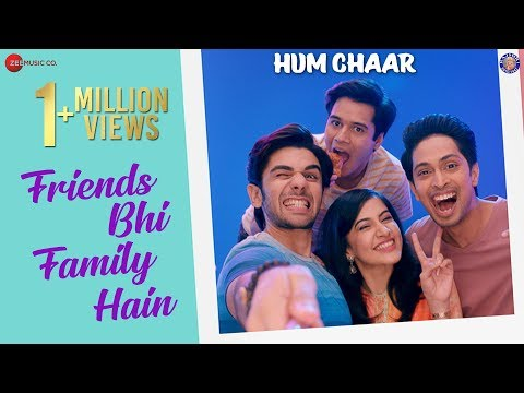 Download Friends Bhi Family Hain Mp3 Song for free from pagalworld,Friends Bhi Family Hain - Hum Chaar song download HD.