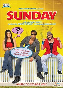 Download Songs Sunday  Movie by Rohit Shetty on Pagalworld
