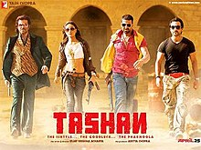 Download Songs Tashan  Movie by Aditya Chopra on Pagalworld