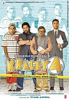 Latest Movie Krazzy 4 by Rajat Kapoor songs download at Pagalworld