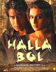 Hit movie Halla Bol by Singh on songs download at Pagalworld