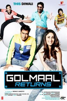 Download Songs Golmaal Returns Movie by Rohit Shetty on Pagalworld