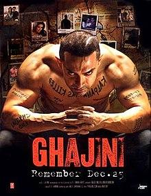 Hit movie Ghajini  by Aamir Khan songs download on Pagalworld