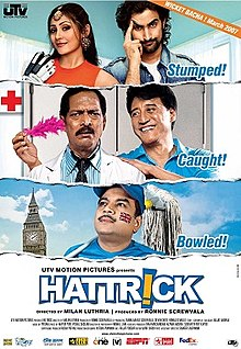 Download Songs Hattrick  Movie by Ronnie Screwvala on Pagalworld