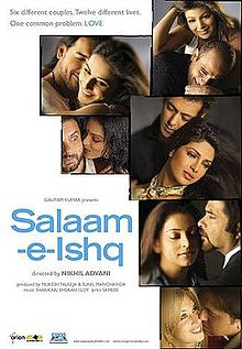 Latest Movie Salaam-e-Ishq: A Tribute to Love by Vidya Balan songs download at Pagalworld