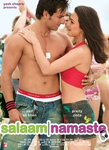 Download Songs Salaam Namaste Movie by Aditya Chopra on Pagalworld