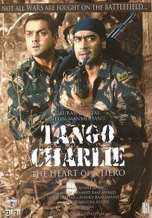 Hit movie Tango Charlie by Bobby Deol songs download on Pagalworld
