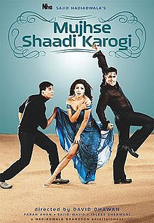 Download Songs Mujhse Shaadi Karogi Movie by Nadiadwala Grandson Entertainment on Pagalworld