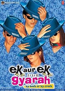 Download Songs Ek Aur Ek Gyarah Movie by David Dhawan on Pagalworld