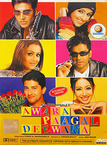 Movie Awara Paagal Deewana by Shaan on songs download at Pagalworld