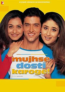 Download Songs Mujhse Dosti Karoge! Movie by Aditya Chopra on Pagalworld
