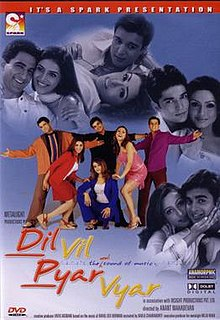 Hit movie Dil Vil Pyar Vyar by Namrata Shirodkar songs download on Pagalworld