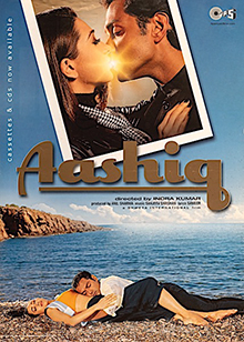 Download Songs Aashiq  Movie by Indra Kumar on Pagalworld