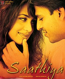 Hit movie Saathiya  by A. R. Rahman on songs download at Pagalworld