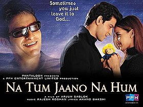 Latest Movie Na Tum Jaano Na Hum by Hrithik Roshan songs download at Pagalworld