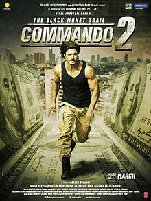 Latest Movie Commando 2: The Black Money Trail by Esha Gupta songs download at Pagalworld