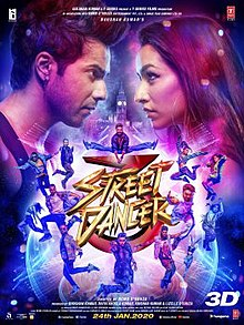 Download Songs Street Dancer 3D Movie by T-series on Pagalworld