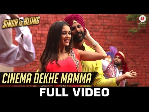 Download Cinema Dekhe Mamma Mp3 Song for free from pagalworld,Cinema Dekhe Mamma - Singh Is Bliing song download HD.