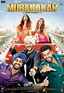 Download Songs Mubarakan Movie by Productions on Pagalworld