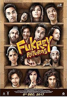 Movie Fukrey Returns by Raftaar on songs download at Pagalworld