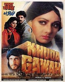 Latest Movie Khuda Gawah by Sridevi songs download at Pagalworld