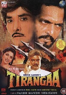 Download Tirangaa Movie Mp3 Songs for free from pagalworld,Tirangaa - Tirangaa songs download HD.