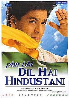 Latest Movie Phir Bhi Dil Hai Hindustani by Shah Rukh Khan songs download at Pagalworld