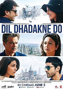 Latest Movie Dil Dhadakne Do by Anushka Sharma songs download at Pagalworld