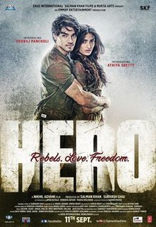 Hit movie Hero (2015 Hindi film) by Aditya Pancholi songs download on Pagalworld