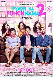 Download Songs Pyaar Ka Punchnama 2 Movie by Viacom 18 Motion Pictures on Pagalworld