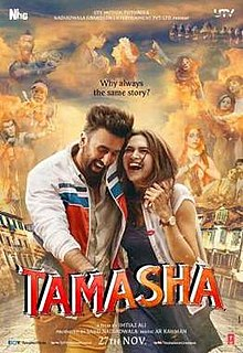Download Songs Tamasha  Movie by Nadiadwala Grandson Entertainment on Pagalworld