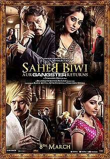 Download Songs Saheb, Biwi Aur Gangster Returns Movie by Tigmanshu Dhulia on Pagalworld