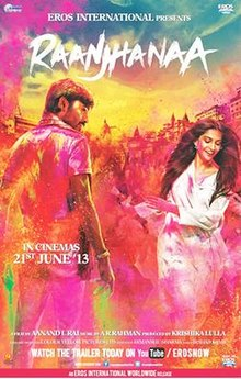 Download Songs Raanjhanaa Movie by Productions on Pagalworld