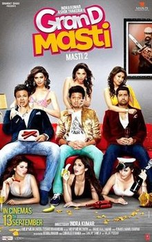 Download Songs Grand Masti Movie by Indra Kumar on Pagalworld