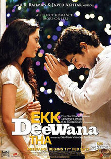 Download Songs Ekk Deewana Tha Movie by Fox Star Studios on Pagalworld