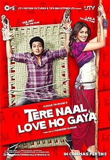 Latest Movie Tere Naal Love Ho Gaya by Genelia D songs download at Pagalworld