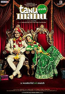 Download Songs Tanu Weds Manu Movie by Viacom 18 Motion Pictures on Pagalworld