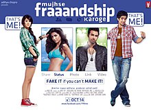 Movie Mujhse Fraaandship Karoge by Ash King on songs download at Pagalworld