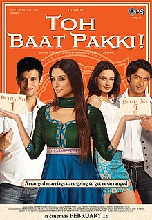 Movie Toh Baat Pakki! by Shilpa Rao on songs download at Pagalworld