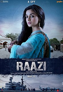 Hit movie Raazi by Alia Bhatt songs download on Pagalworld