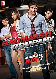 Download Songs Badmaash Company Movie by Yash Raj Films on Pagalworld