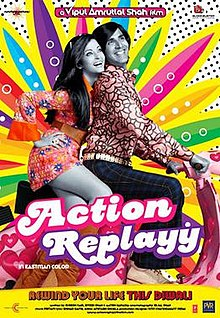 Hit movie Action Replayy by Pritam on songs download at Pagalworld